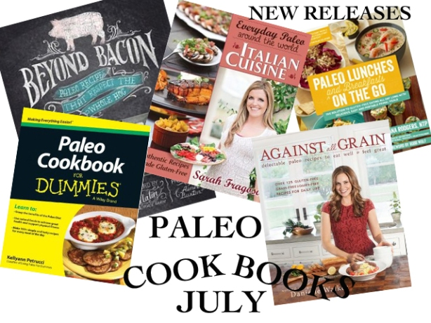 Paleo Cookbooks July New Releases